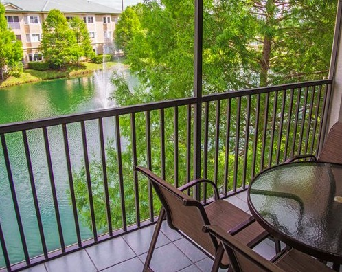 Silverlake Resort Kissimmee, FL balcony