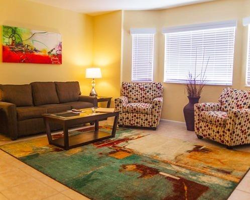 Silverlake Resort Kissimmee, FL living area 2