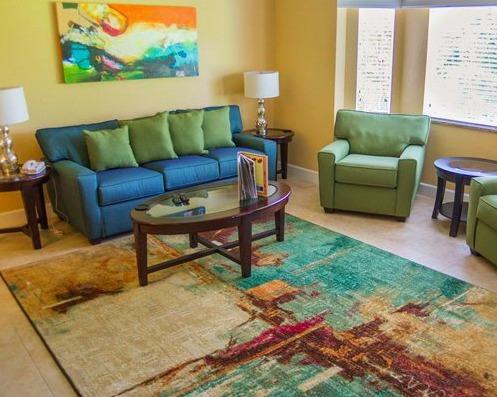 Silverlake Resort Kissimmee, FL living area