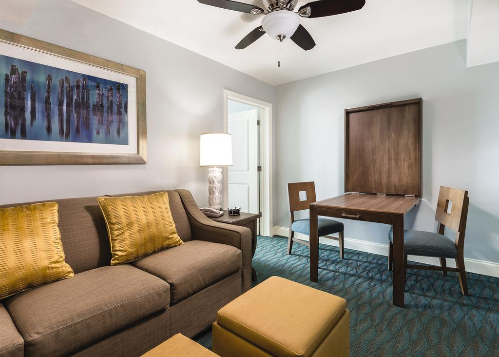 Wyndham Vacation Resorts Towers on the Grove Myrtle Beach, SC living area