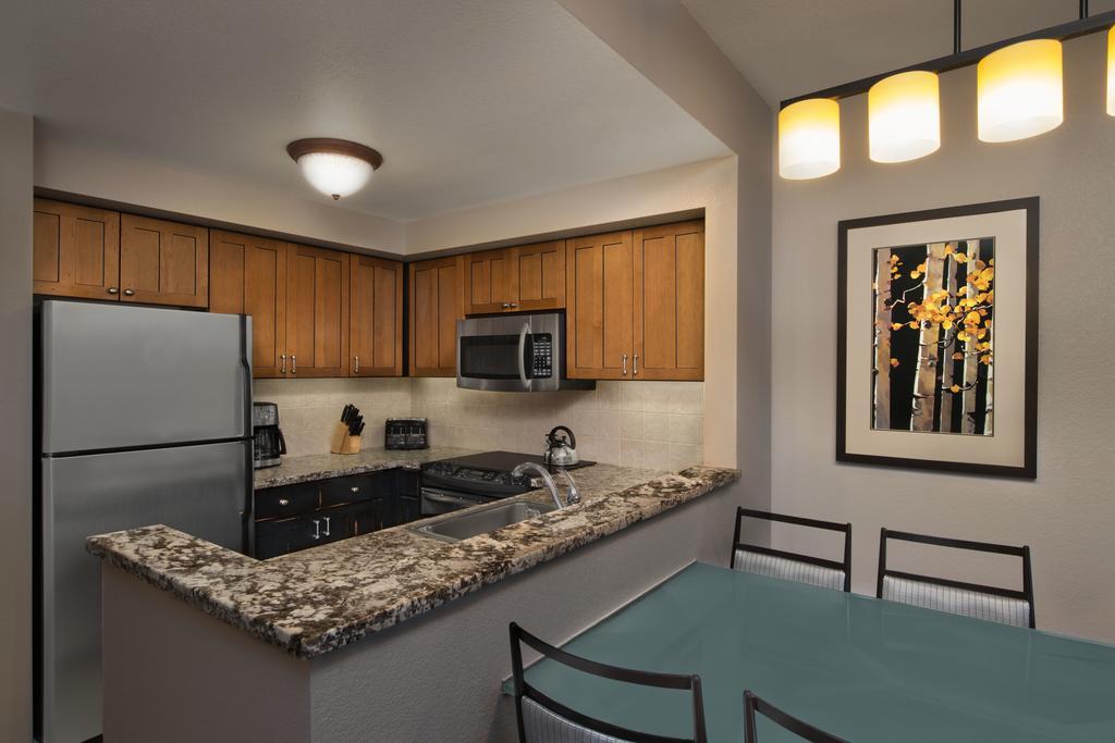 Marriott's MountainSide Park City, UT kitchen
