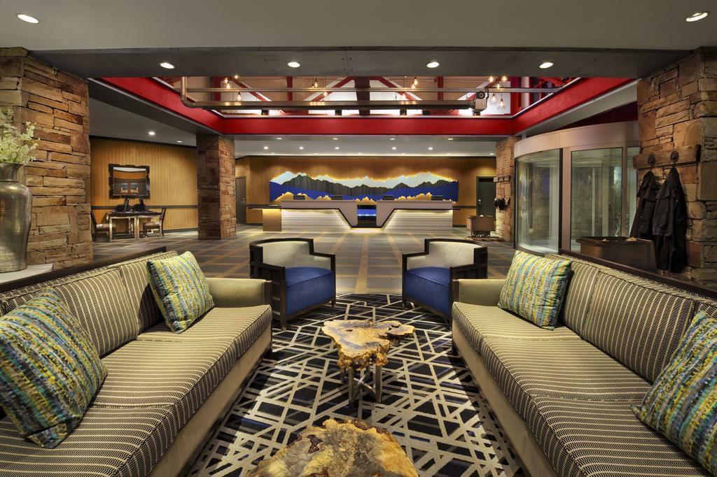 Marriott's MountainSide Park City, UT lobby